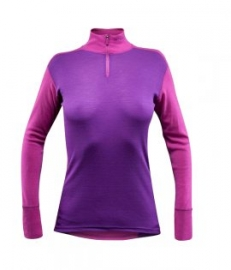 Devold Sport ZIP NECK woman