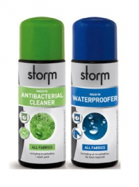 (WASH-IN) TWIN PACK CLEANER+WATERPROOFER all fabrics 75ml