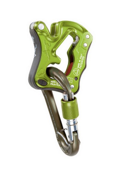 Climbing Technology CLICK UP KIT (jistítko+karabina), zelená