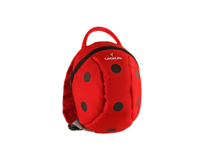 Little Life Animal Toddler Backpack Ladybird, červená, 2l
