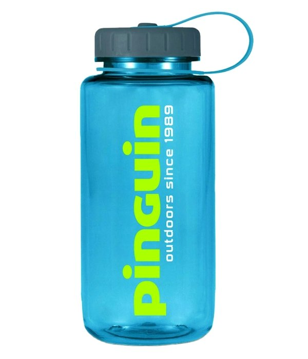 Pinguin Tritan Fat Bottle 1L, modrá